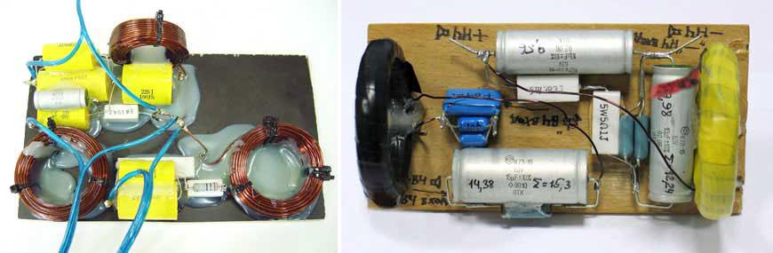 Взаимное влияние катушек в фильтрах акустических систем