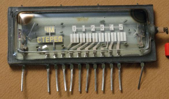 электронная лампа индикатора