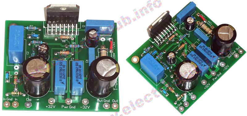 Hi-Fi усилитель TDA7294 плата Hi-Fi amplifier TDA7294 board