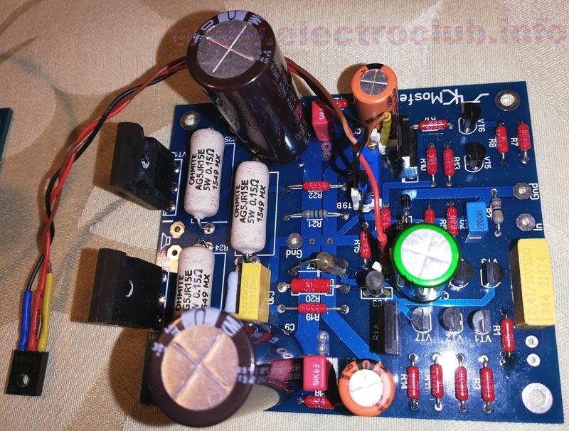 Hi-Fi MOSFET усилитель. Печатная плата.