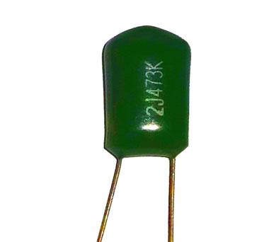 Зеленый конденсатор