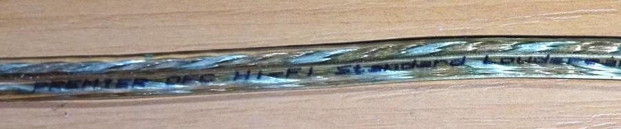 Обычный кабель 1,5 мм2