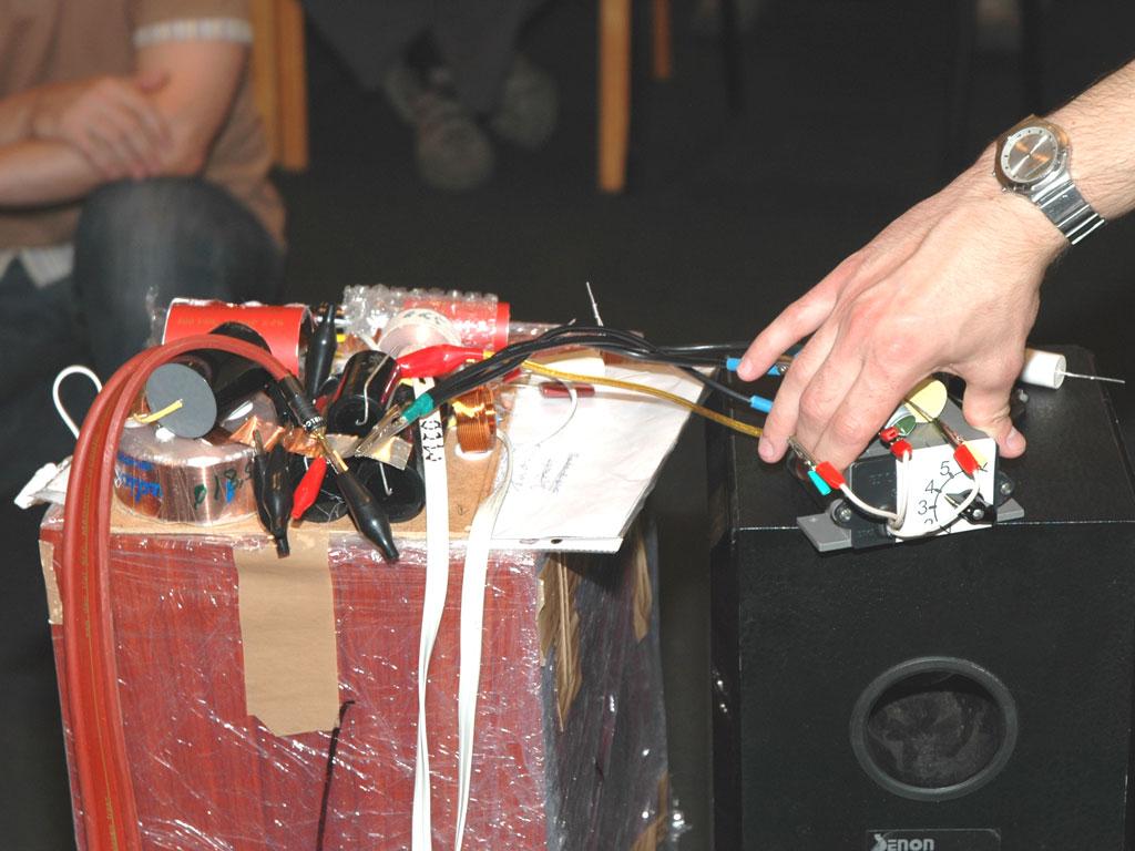 Звучание конденсаторов в фильтрах акустических систем