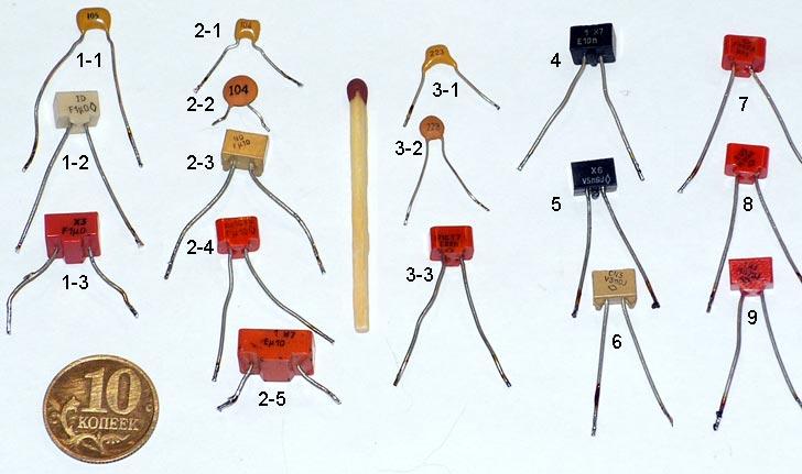 Сравнение: конденсаторы для
