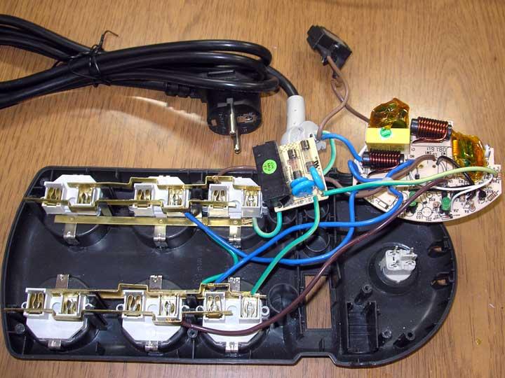 Обзор и доработка сетевого фильтра APC PH6T3-IT