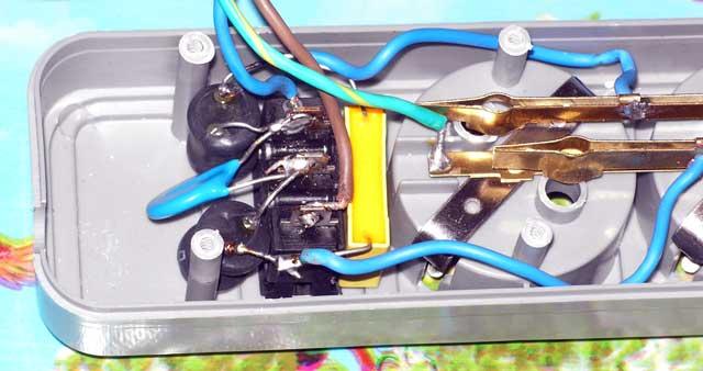 Сетевой фильтр из дешевого удлинителя